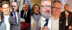 I Presidenti di Regione eletti